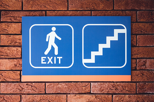 Custom wayfinding signs for interior use in Austin, Texas