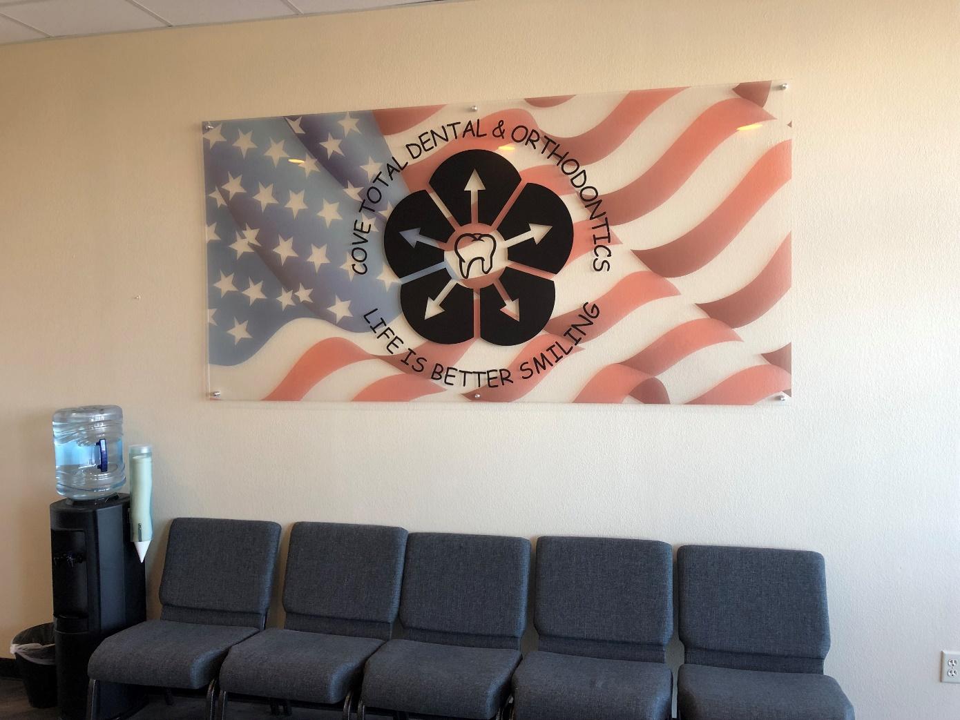 office lobby Sign