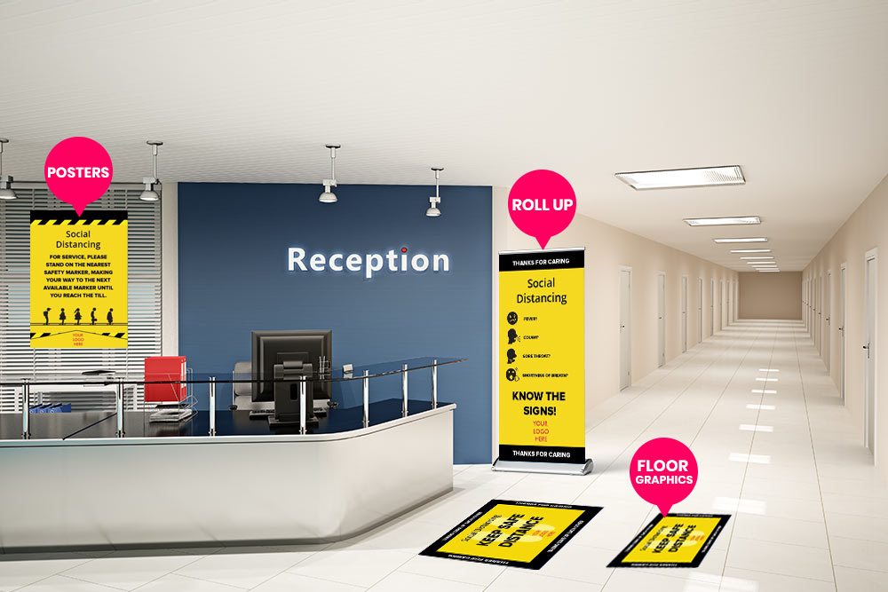 Informative Lobby Signage For Reception in Austin, TX - Georgetown Sign Company