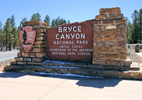 Bryce Canyon Custom Monument Signage