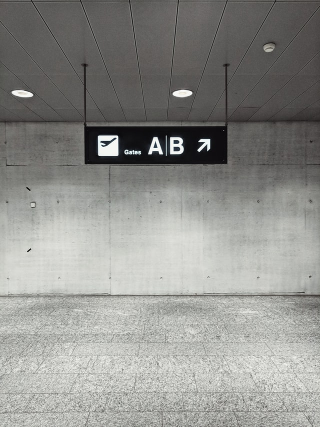Simple Wayfinding Signage