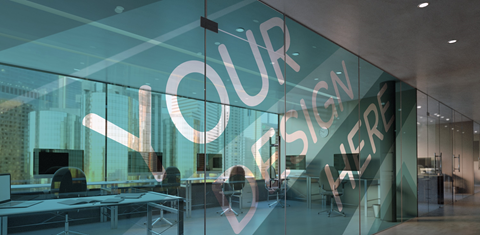 Custom Window Film For Offices in Austin, TX - Georgetown Sign Company