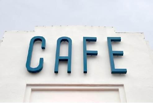 Perfect Channel Letters For Cafe in Austin, TX - Georgetown Sign Company
