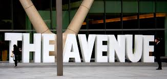 The Avenue Commercial Sign In Austin, TX - Georgetown Sign Company