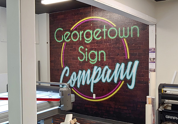 Top Wall Murals Services Provided By Georgetown Sign Company