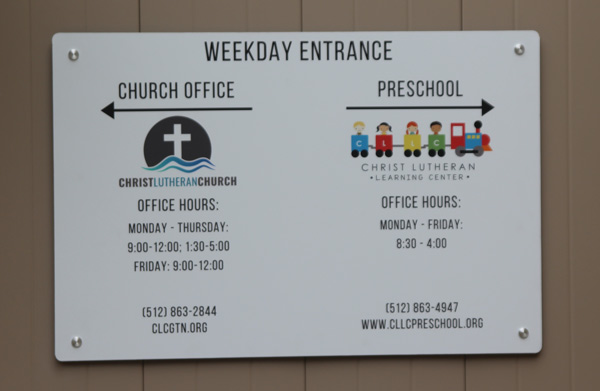 Get the Best Directional or Wayfinding Signs from Georgetown Sign Company