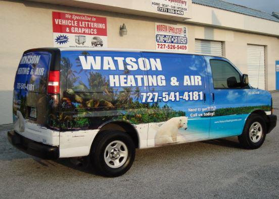 Custom Van Fleet Wraps in Austin, TX - Georgetown Sign Company