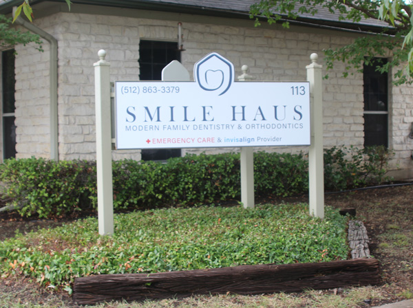 Custom Made Outdoor Monument Signage in Austin, TX - Georgetown Sign Company
